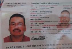 Pasaporte Romualdo reducido